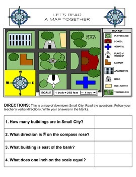 Map Making Unit for Kids