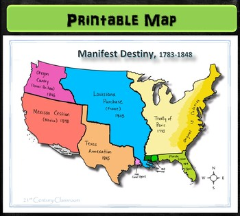 Map: Manifest Destiny
