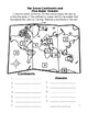 Map, Map Features, Continents, and Major Oceans Assessment