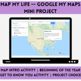 Map My Life -- Google Maps Mini Project
