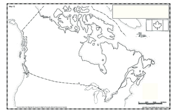 Easy Map Of Canada.Canada Map 12