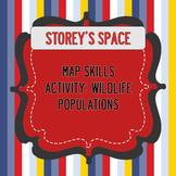 Map Practice Activity: Wildlife Populations