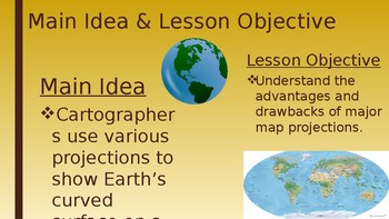 Map Projections PowerPoint