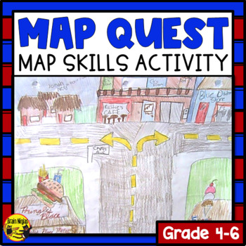 Map Quest - A Creative Mapping Activity