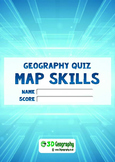 Map Quiz - complete with answer key
