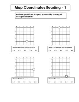 Map Reading - Grid Coordinates