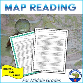 Map Grid Worksheets Teaching Resources | Teachers Pay Teachers