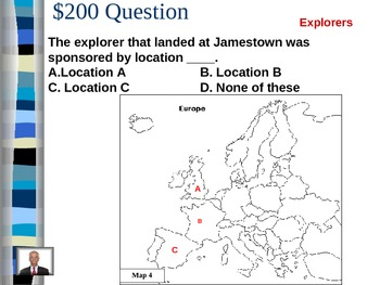 Map Review Jeopardy- VA SOLS Aligned