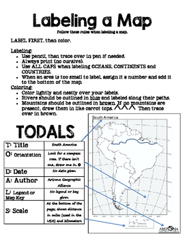 Map Rules - Labeling a Map