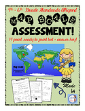 Map Scale Assessment (intermediate social studies)