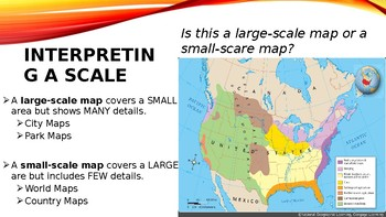 Map Scale PowerPoint