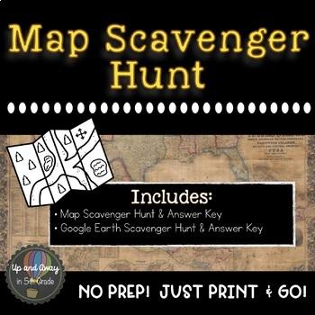 Map Scavenger Hunt