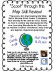 Map Skill Scoot!  An interactive map skill activity for in