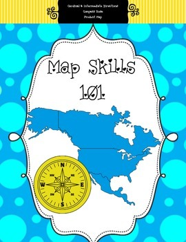 Compass Roses, Cardinal Directions, and Product Maps