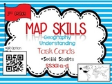 Map Skills Task Cards