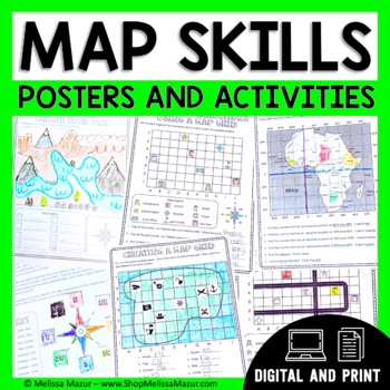 Social studies history teaching resources lesson plans map skills unit activities for maps and globes fandeluxe Gallery