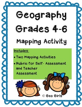 Map Skills - 2 Differentiated Activities with Assessment Rubric
