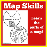 Map Skills First Grade | Map Skills Second Grade | Map Skills Activity