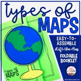 Map Skills 3rd Grade: Types of Maps - Geography