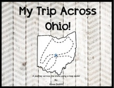 Map Skills Activity (My Trip Across Ohio Using a Map Scale!)