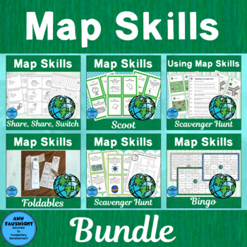 Map Skills Activity Pack