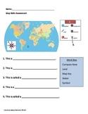 Map Skills Assessment Grade 1