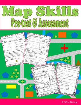 Map Skills Assessments