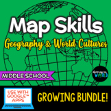 Map Skills Bundle/Into to Geography