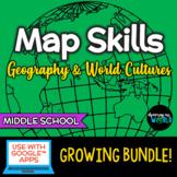 Geography Skills GROWING Bundle