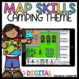 Grades 1-2 Map Skills Campground Theme