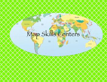 Map Skills Centers