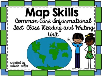 City state country continent teaching resources teachers pay teachers map skills common core reading and writing unit freerunsca Image collections