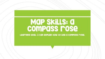Map Skills: Compass Rose