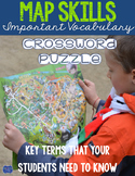 Map Skills Crossword