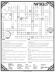 Map Skills Crossword