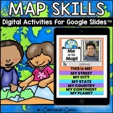 Map Skills Digital Activities for Google Slides™