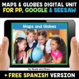 Map Skills Digital Activities for Google and Seesaw - Dist