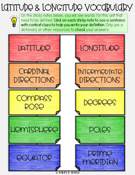 Map Skills Digital BUNDLE of Activities - Paperless & Interactive!