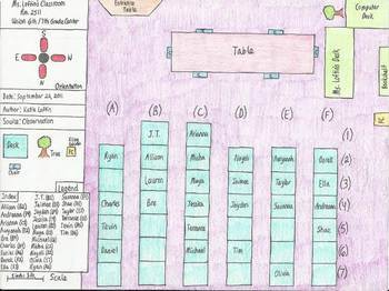 Map Skills-Essential Elements-TODALSIGS Classroom Map Lesson