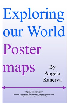 Map Skills Exploring Our World Posters