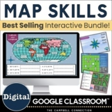 Map Skills Google Classroom | Digital | Geography