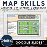 Map Skills Google Classroom | Cardinal Directions | Compass Rose