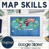 Map Skills Google Classroom | Digital | Distance Learning