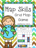 Map Skills - Grid Map Game