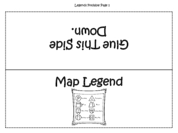 Map Skills Interactive Foldable