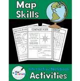 Map Skills Interactive Notebook