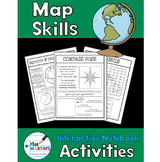 Map Skills Interactive Notebook