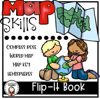 map skills interactive notebook flip it book