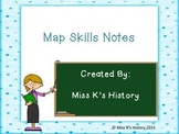 Map Skills Introduction Notes