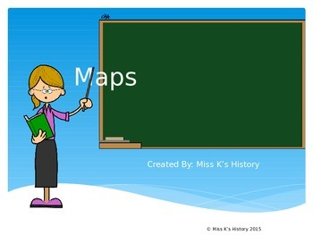 Map Skills Introduction Powerpoint